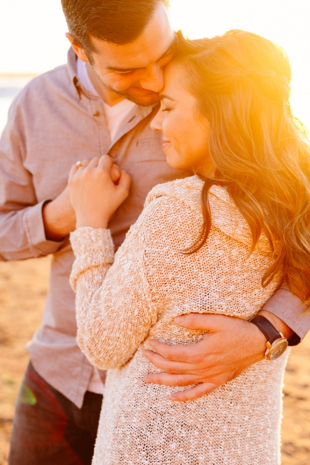 Pismo Beach engagement session at sunset